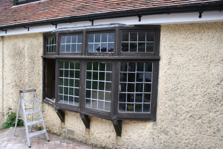 Wood window restoration - refitting