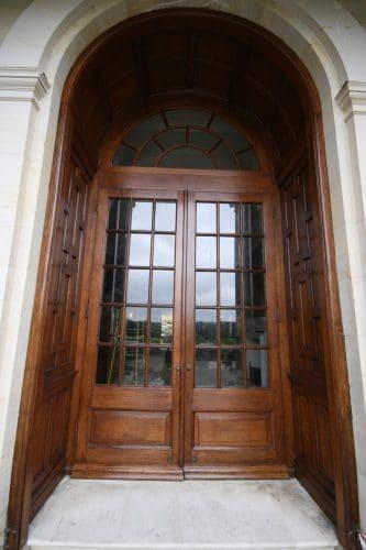 Oak door restoration - completed