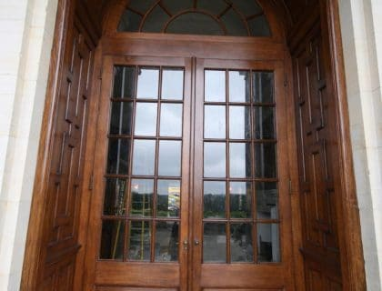 Oak door restoration - completed