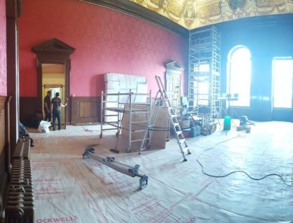 Wrapping up at Kensington palace