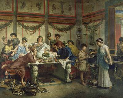 The Roman Celebration Saturnalia