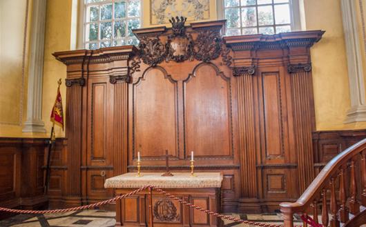 The Chapel at Blenheim Palace