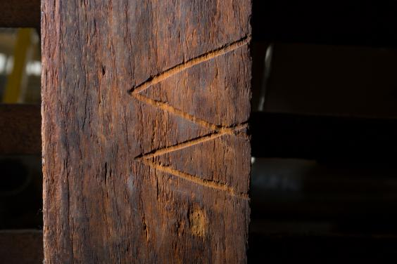 Witches mark found in the Tower of London